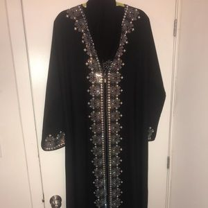 Dresses & Skirts - Swarovski crystal embellished kaftan and Hijab